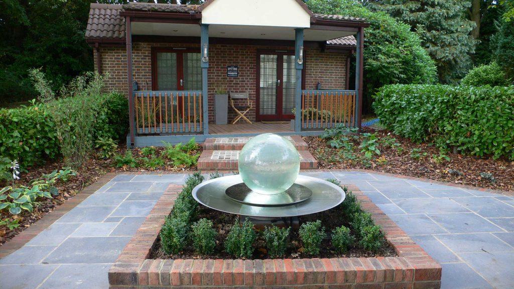 small sensory garden