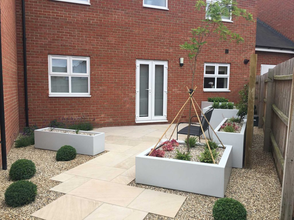 low maintenance garden with features to delight all the senses