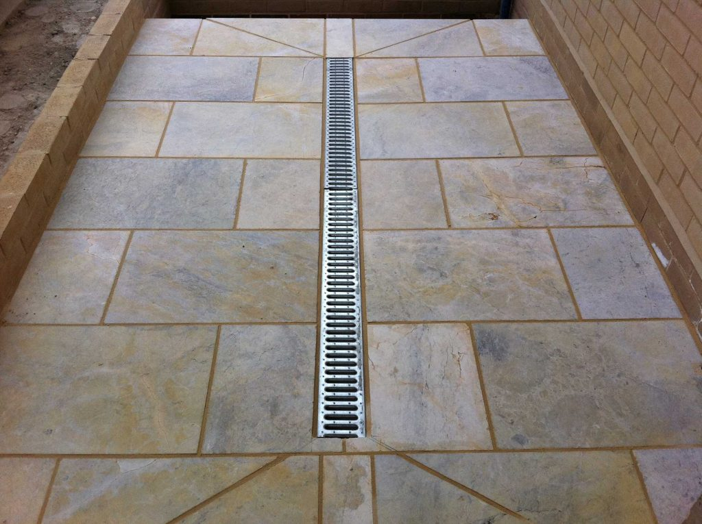 practical landscaping feature to ensure good drainage