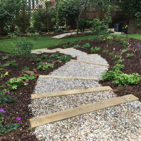 landscaping a sloping garden