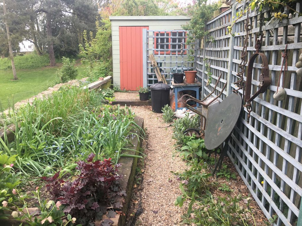 colchester garden before transformation by holland landscapes