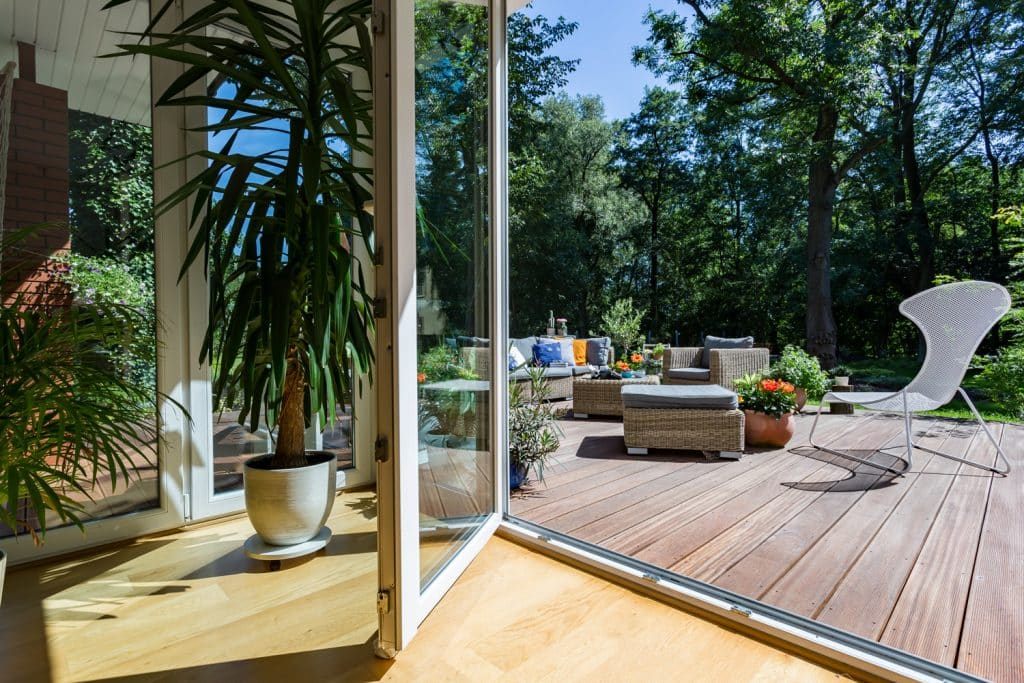 integrate your outdoor and indoor spaces