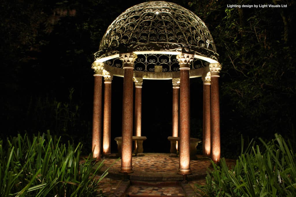 lighting for garden buildings