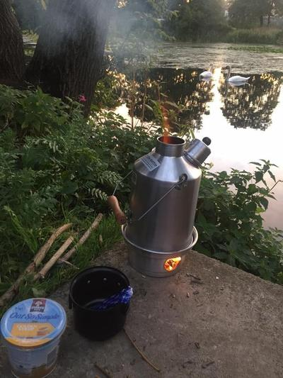 storm kettle for fishermen and gardeners