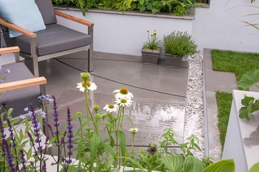 rain gardens water collection