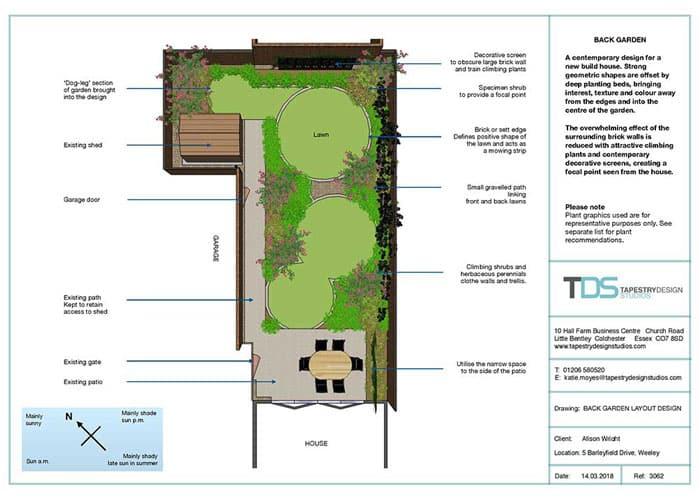 garden design by tapestry design studios