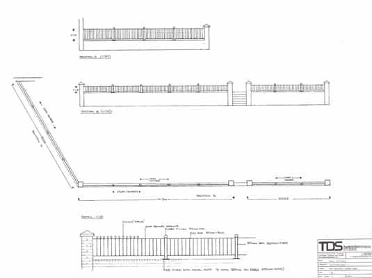 garden design construction drawings