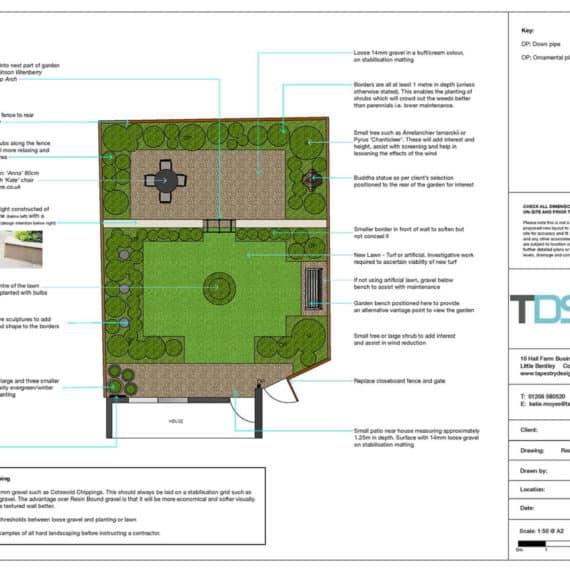 easy care garden design